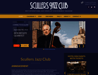 scullersjazz.com screenshot