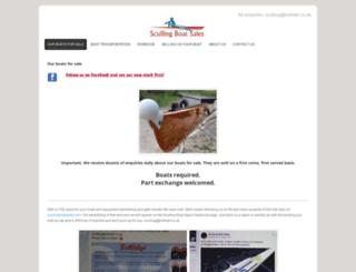 scullingboatsales.com screenshot
