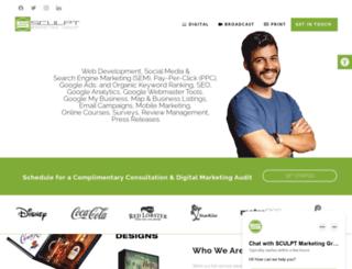 sculptgroup.com screenshot