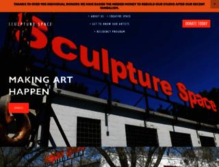sculpturespace.org screenshot