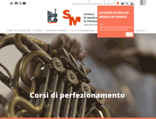 scuolamusicafiesole.it screenshot