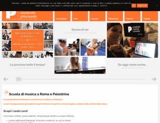 scuolamusicale.com screenshot