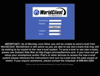 scwmail.firstweber.com screenshot