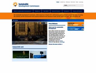 sd-commission.org.uk screenshot