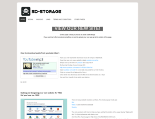 sd-storage.webs.com screenshot