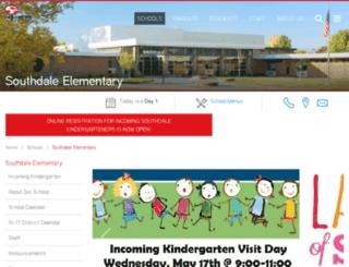sd.cfschools.org screenshot