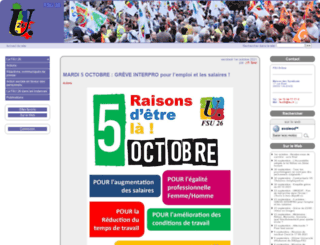 sd26.fsu.fr screenshot