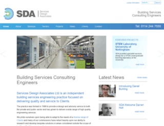 sda.co.uk screenshot