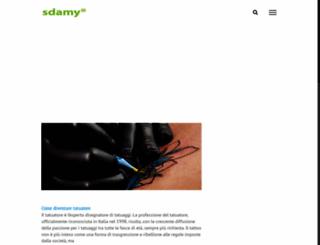 sdamy.com screenshot