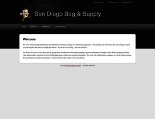 sdbag.com screenshot