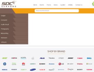 sdc-serpong.com screenshot