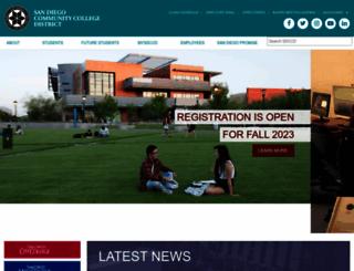 sdccd.edu screenshot