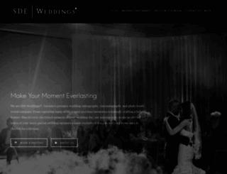 sdeweddings.com screenshot