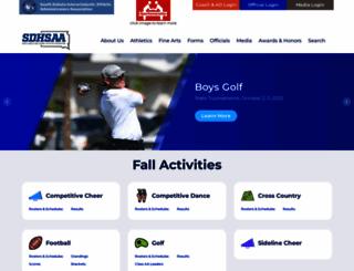 sdhsaa.com screenshot
