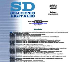sdigitales.com.ar screenshot