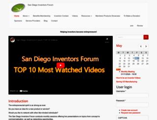 sdinventors.org screenshot