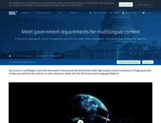 sdlgov.com screenshot