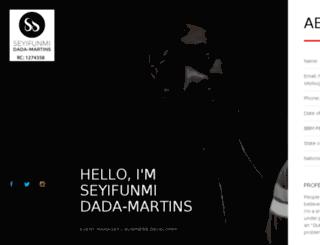 sdmartins.com screenshot