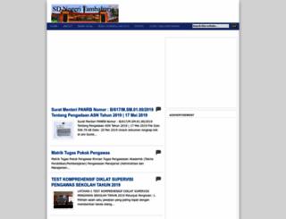 sdn-tambaharjo.blogspot.com screenshot