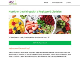 sdonutrition.com screenshot