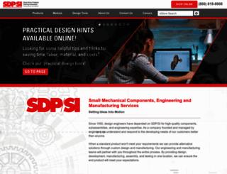 sdp-si.com screenshot