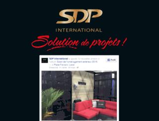 sdpinternational.ca screenshot