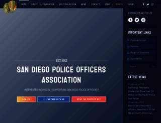 sdpoa.org screenshot