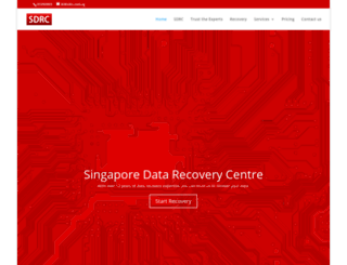 sdrc.com.sg screenshot