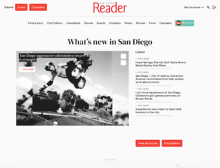 sdreader.com screenshot