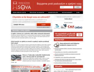 sdruzeni-sova.cz screenshot