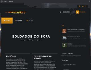 sdsclan.net screenshot
