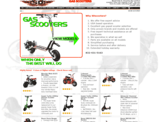 sdscooters.com screenshot
