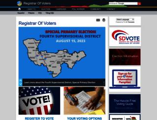 sdvote.com screenshot