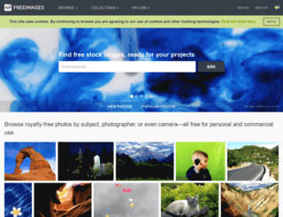 se.freeimages.com screenshot