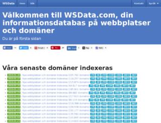 se.wsdata.co screenshot