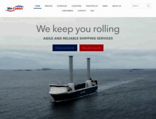 sea-cargo.no screenshot