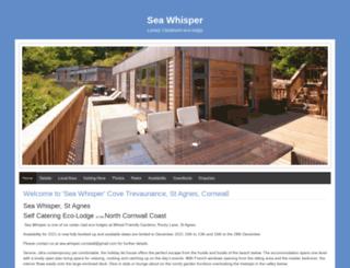 sea-whisper.co.uk screenshot