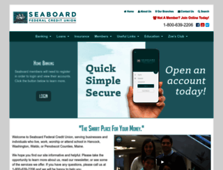 seaboardfcu.com screenshot