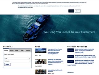 seaboardmarine.com screenshot