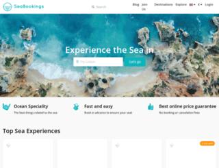 seabookings.com screenshot