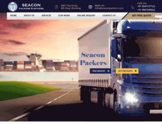 seaconpackers.com screenshot
