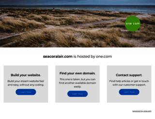 seacoralair.com screenshot