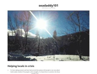 seadaddy101.wordpress.com screenshot
