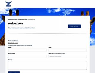 seafood.com screenshot