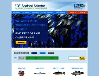 seafood.edf.org screenshot