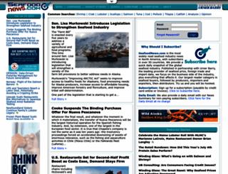 seafoodnews.com screenshot