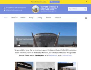 seafordmuseum.co.uk screenshot