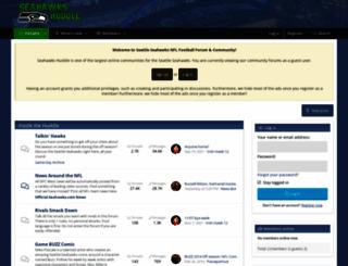 seahawkshuddle.com screenshot