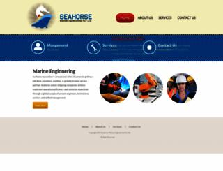 seahorsegroup.in screenshot