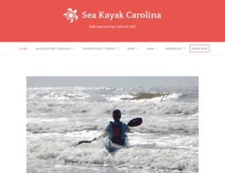 seakayakcarolina.com screenshot